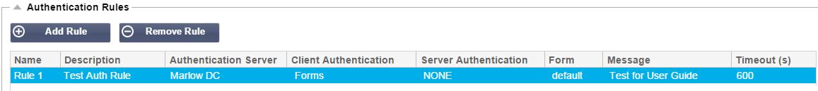 edgeNEXUS Authentication Server