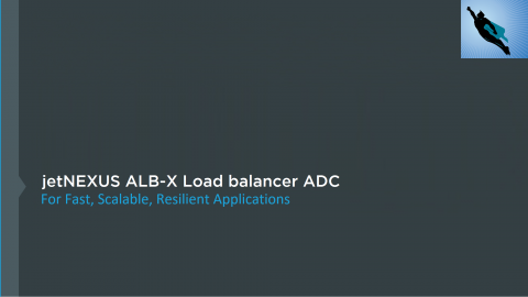Edgenexus ALB-X Load balancer