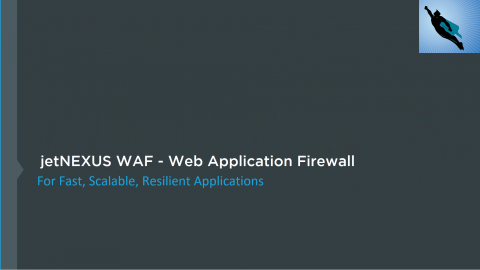 jetNEXUS WAF (Web application firewall)